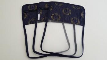 Conjunto de saquinhos organizadores para bolsa (3 peças) - Ursinho