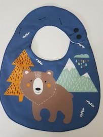 Babador atoalhado - Urso