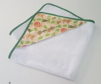 Toalha de banho com capuz - Personalizada